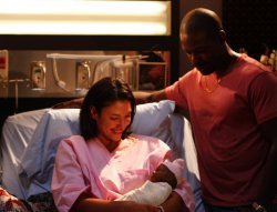 Army Wives - Roland (Sterling K. Brown), Joan (Wendy Davis)