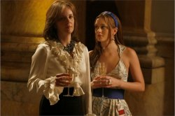 Gossip Girl - Margaret Colin as Eleanor Waldorf and Leighton Meester as Blair