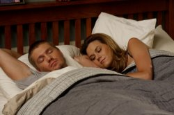 One Tree Hill - Chad Michael Murray as Lucas and Hilarie Burton as Peyton