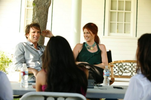 Hart Bochner, Debra Messing