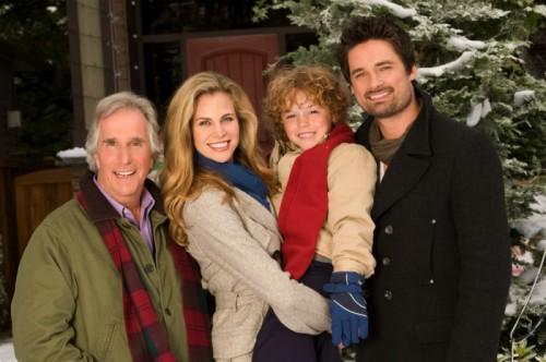 Henry Winkler, Brooke Burns, Connor Levins, Warren Christie - Most Wonderful Time of the Year