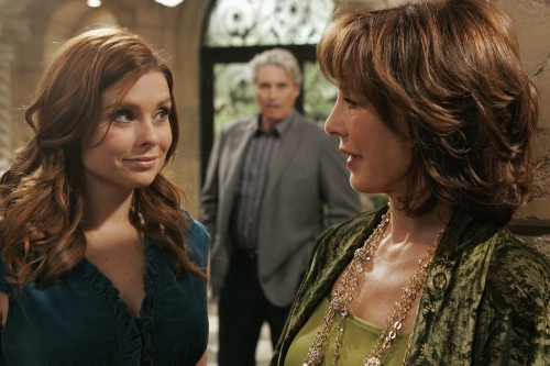 JoAnna Garcia as Megan and Anne Archer as Laurel in PRIVILEGED