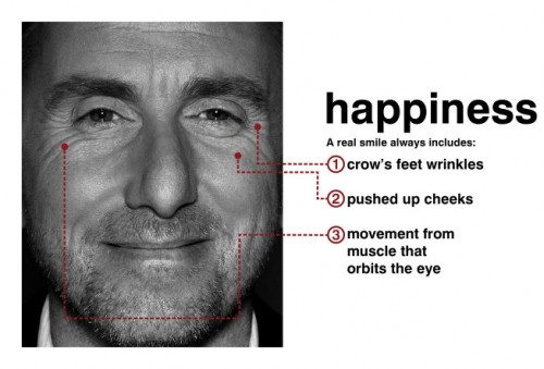 Tim Roth (Dr. Cal Lightman) portrays happiness in Lie To Me