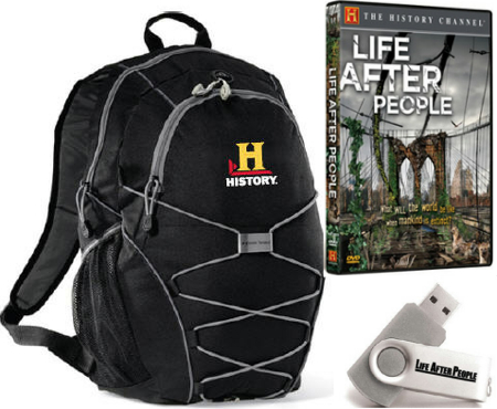 Life After People Prize Pack
