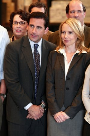 Steve Carell, Amy Ryan - The Office