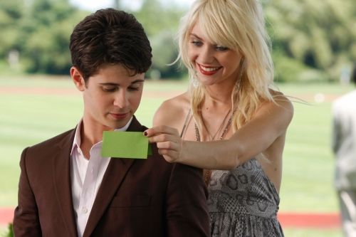 Connor Paolo as Eric, Taylor Momsen as Jenny