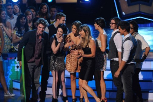 The cast of Twilight at the Teen Choice 2009