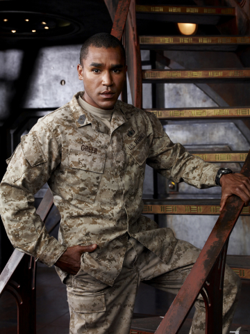 Jamil Walker Smith as Msgt. Ronald Greer