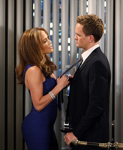 Jennifer Lopez and Neil Patrick Harris on HOW I MET YOUR MOTHER