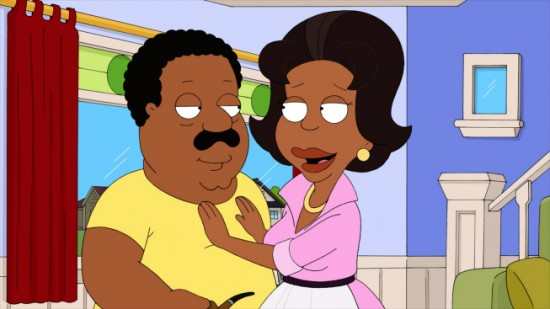 THE CLEVELAND SHOW Brown Knight (5)