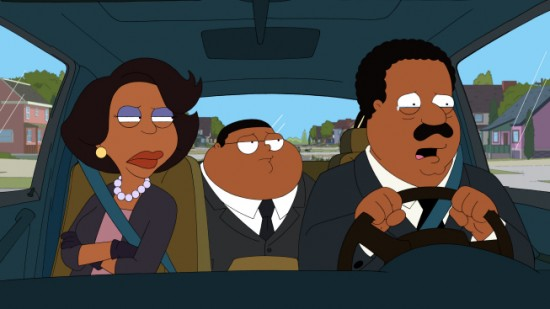 THE CLEVELAND SHOW Gone with the Wind (2)