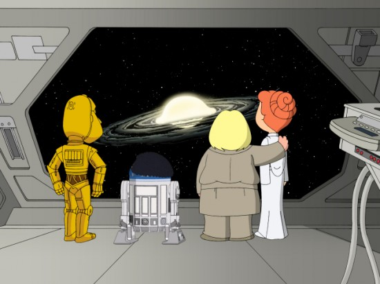 "FAMILY GUY ""Something, Something, Something Dark Side, Parts 1 and 2"""