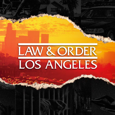 Law and Order: Los Angeles (NBC) logo