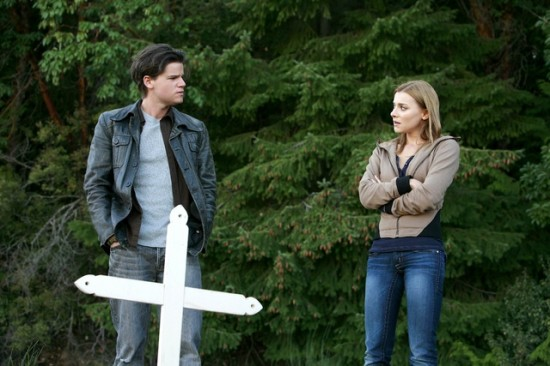 Steven Grayhm and Emma Lahana in Seven Deadly Sins (Lifetime Movie Network)