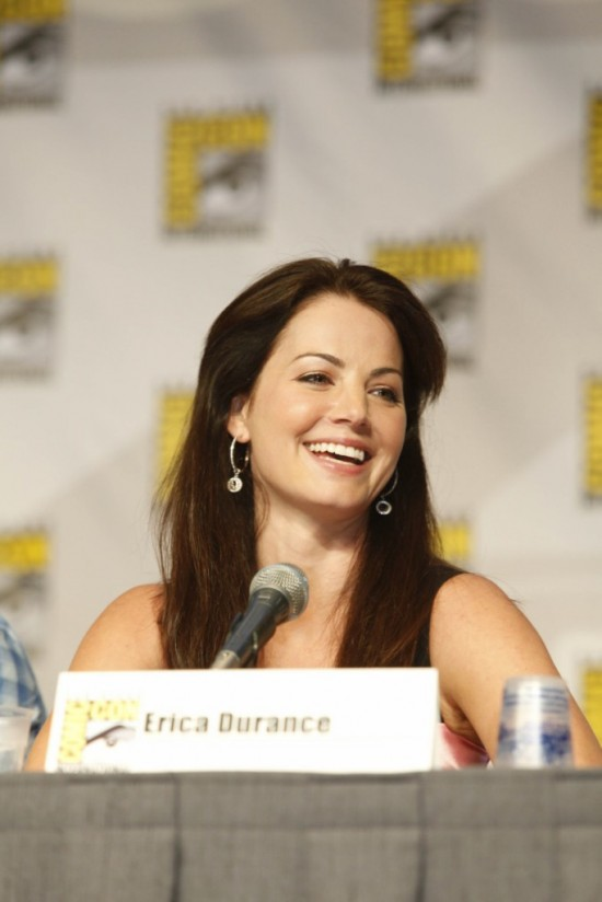Erica Durance at the Comic-Con