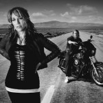 Katey Sagal and Charlie Hunnam in SONS OF ANARCHY