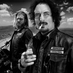 Ryan Hurst and Kim Coates in SONS OF ANARCHY