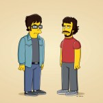 The Simpsons (FOX) Flight of the Conchords