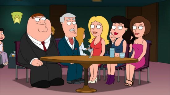 FAMILY GUY (FOX) Welcome Back Carter
