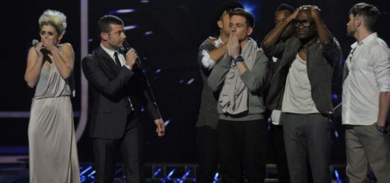 X Factor Results Show 1