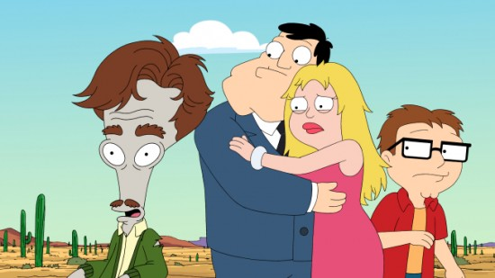 AMERICAN DAD (FOX) There Will Be Bad Blood