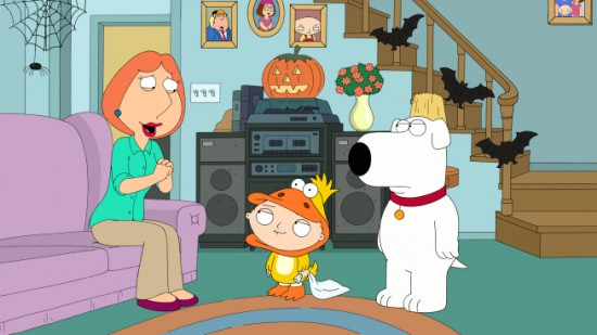 FAMILY GUY (FOX) Halloween on Spooner Street