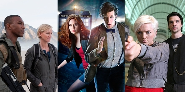 Outcasts - Doctor Who - Primeval