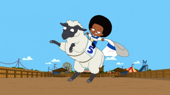 THE CLEVELAND SHOW Ain't Nothin' But Mutton Bustin