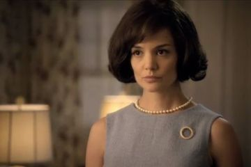 Katie Holmes as Jackie Kennedy in The Kennedys