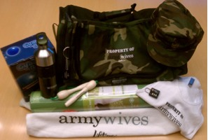 army wives boot camp prize pack