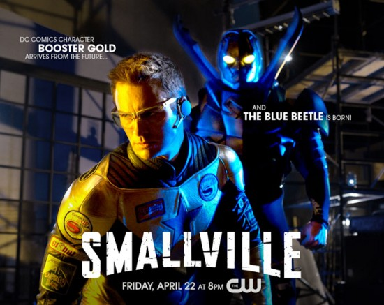 smallville booster gold blue beetle
