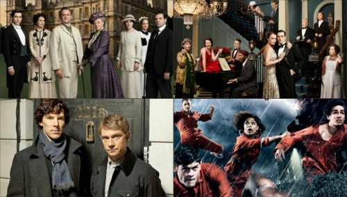 downton abbey-upstairs downstairs-sherlock-misfits