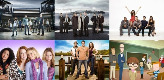 fox 2011-2012 tv shows