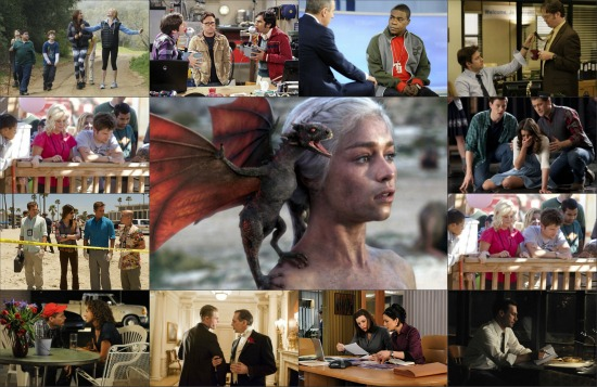 2011 EMMYS AWARDS Best Drama and Best Comedy Series