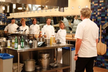 HELL'S KITCHEN 5 Chefs Compete Again Season 9 Episode 14