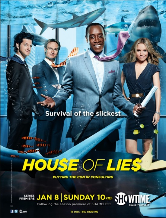 House of Lies (Showtime) poster