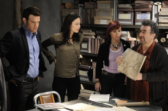 Pete, Myka, Claudia and Artie - Warehouse 13