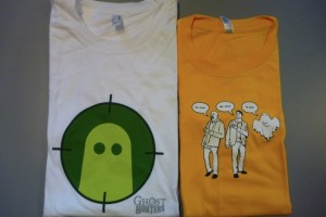 ghost hunters t-shirts