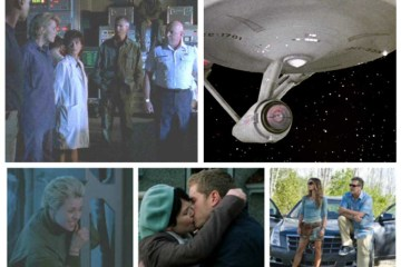 Stargate SG-1, USS Enterprise, Sam Carter, Mary Margaret and David, Fiona and Sam