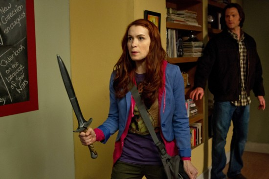 Supernatural The Girl with the Dungeons and Dragons Tattoo Season 7 Episode 20 (5)