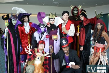 disney villains comic-con 2012