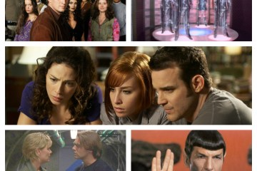 Firefly, Star Trek: The Next Generation, Warehouse 13, Stargate SG-1, Mr. Spock
