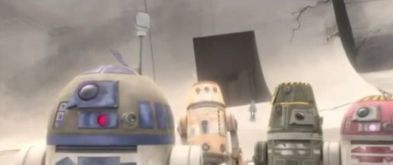 Star Wars The Clone Wars Season 5 Episode 11 A Sunny Day in the Void
