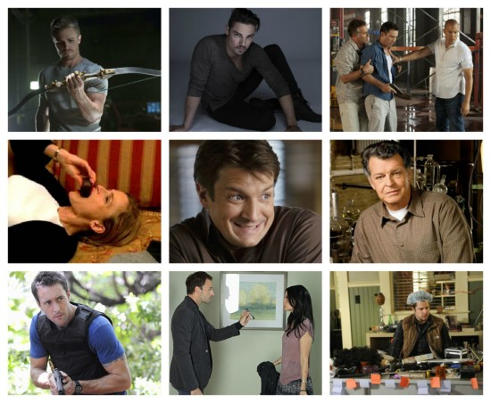 Arrow, Beauty and The Beast, Burn Notice, The Closer, Castle, Fringe, Hawaii Five-0, Elementary, Psych