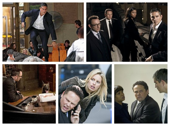 Reese, Finch, Fusco, Carter and Bear - Person of Interest