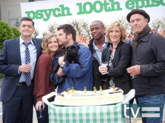 Psych Cast and Guest Stars Discuss Shooting 100th Episode | TV Equals