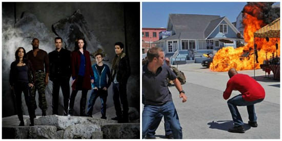 Continuum and Callen and Hannah - NCIS: Los Angeles