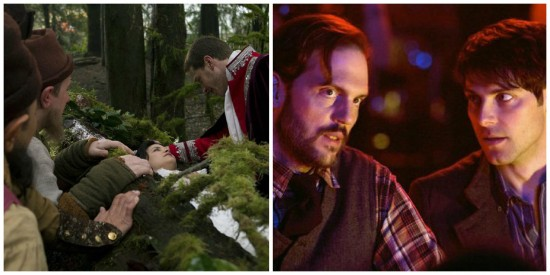 Snow and Charming - Once Upon a Time and Monroe and Nick - Grimm
