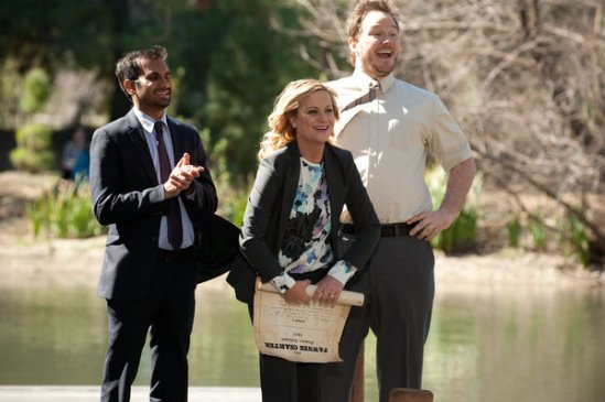 Parks and Recreation Season 5 Episode 18 & 19 Article Two; Jerry's Retirement (15)