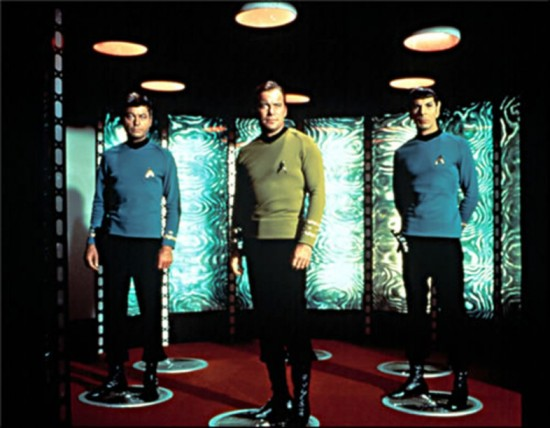 McCoy, Kirk and Spock - Classic Star Trek